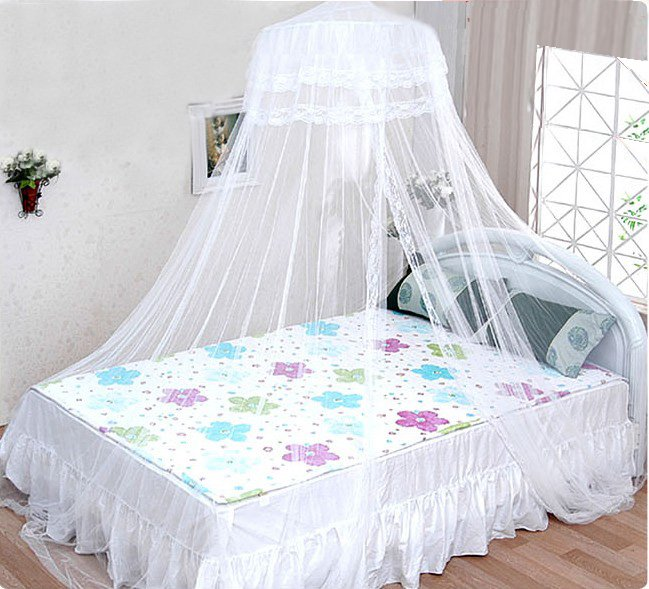 White Canopy for Girl's Bed