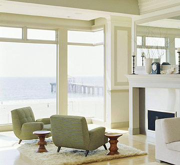 Image of: Window Walls Provide Drama and Stunning Views
