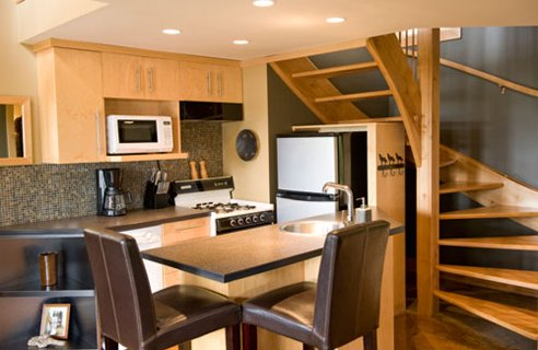 Wooden Small House Interior Design