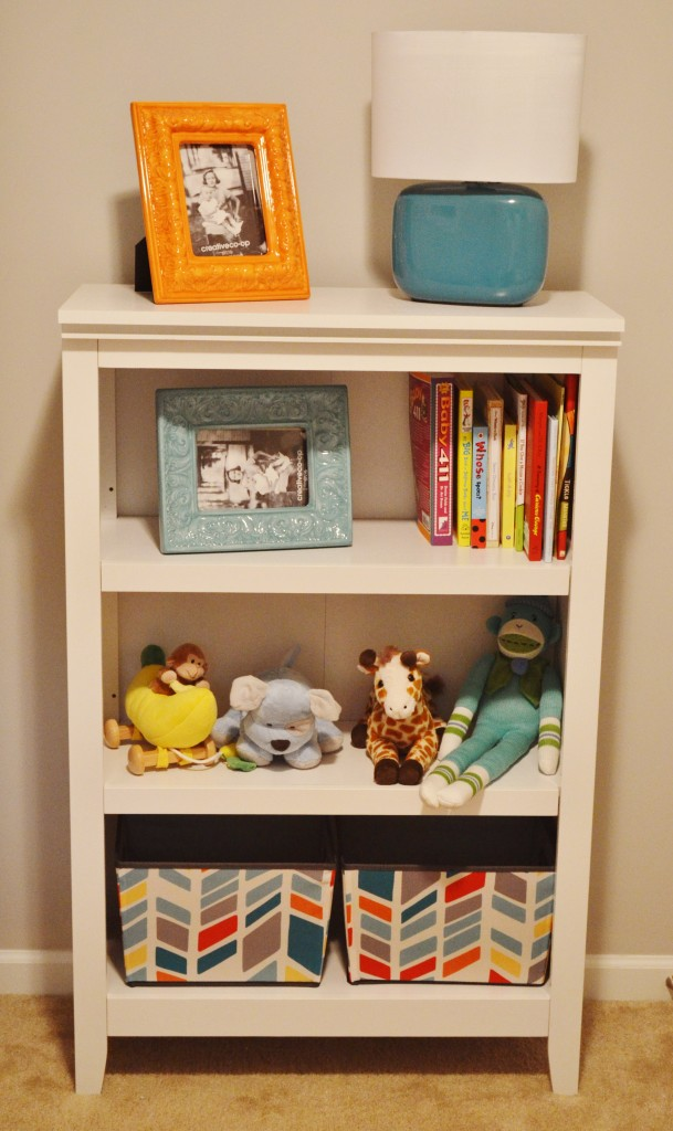 Image of: Baby Room Bookshelves