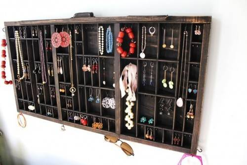 Image of: Drawer Jewelry Organizer Pictures