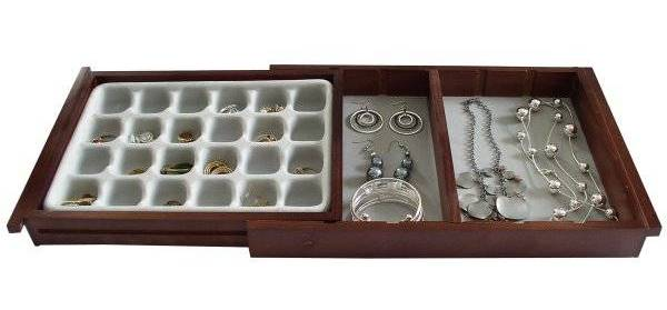 Image of: Drawer Organizer for Jewelry Collection