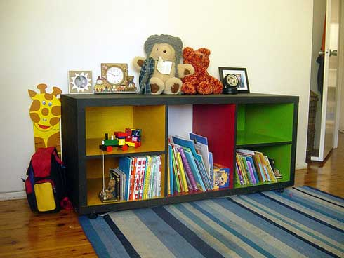 Image of: Baby Room Bookcase