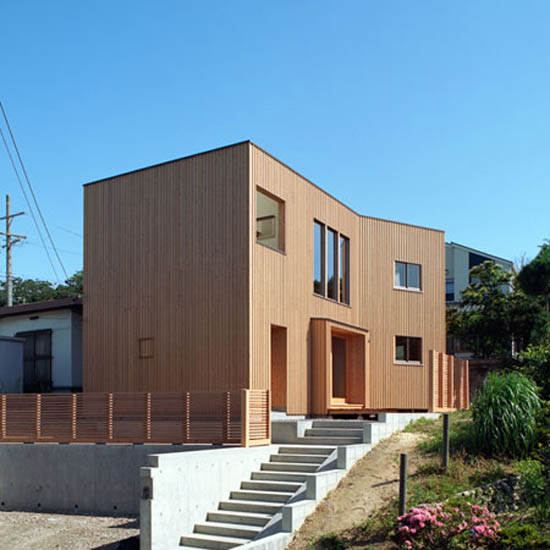 Image of: Modern Japanese Style House Design