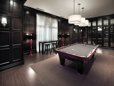 Image of: Greenview Ave Billiards Room