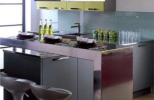Image of: Bar Kitchen Dinner Design