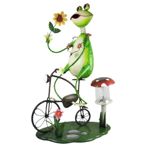Image of: Cool Frog Garden Statue