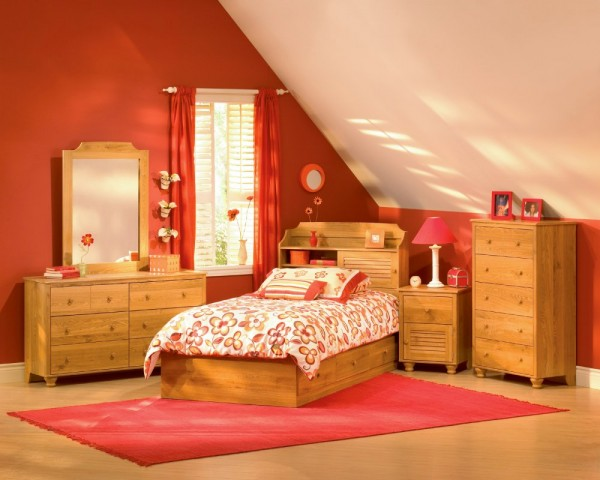 Image of: Furnishing your Bright Attic Bedroom
