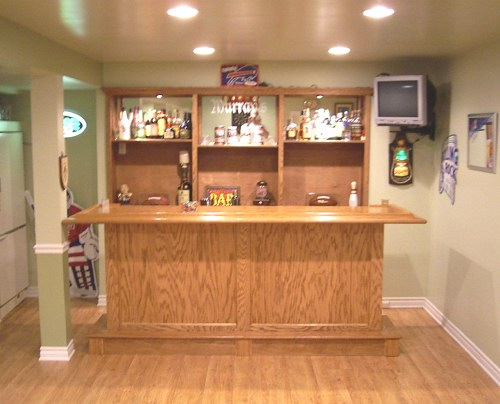 Image of: Home Bar Design and Plan
