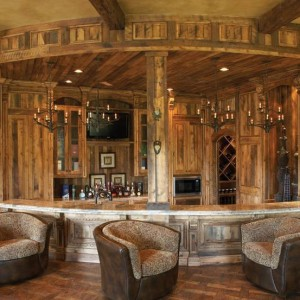 Image of: Home Bar Pub Design