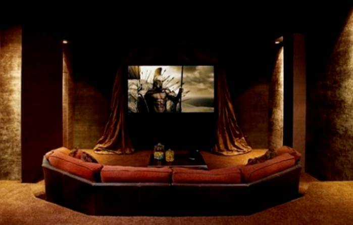 Image of: Home Movie Theater Idea