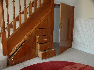 Image of: Maximize under Stairs with Full Cupboard