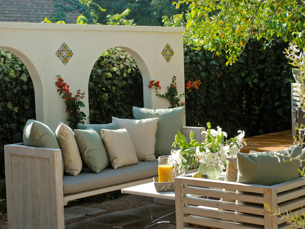 Image of: Mediterranean Style Patio