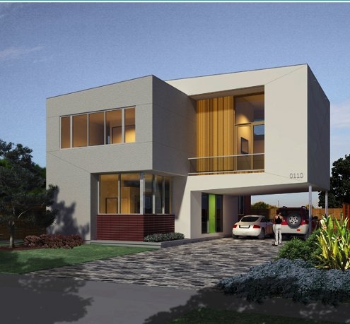 Image of: Modern Small House Design
