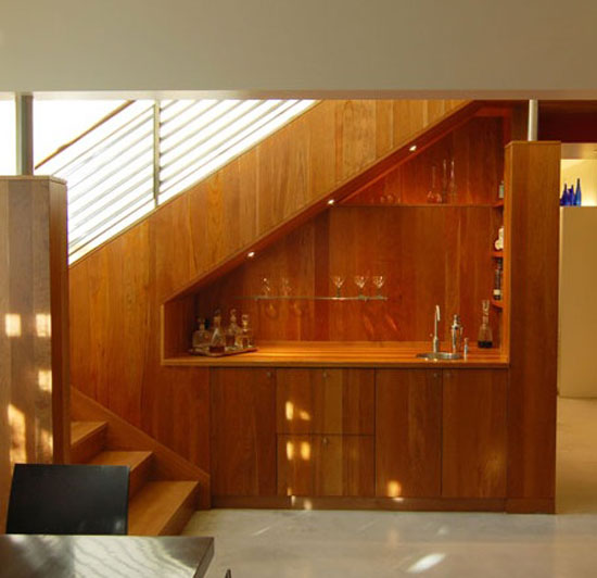 Image of: Small Cupboard under the Stairs