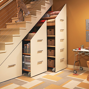 Image of: Under Stair Cupboard for Storage