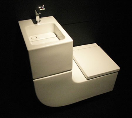 Image of: W+W Toilet Sink
