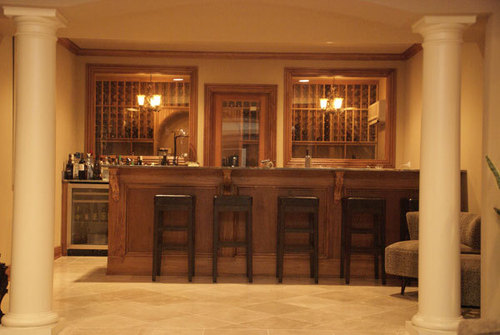 Image of: How to Decorate Your Home Bar