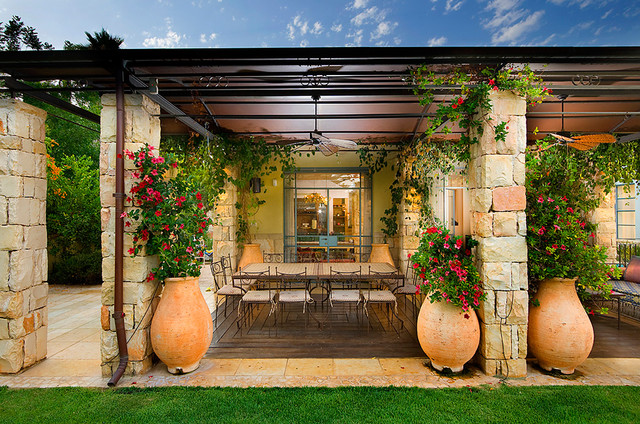Image of: Best Mediterranean Patio Ideas