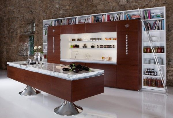 A Library Kitchen
