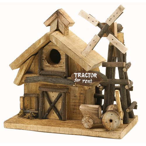 Attractive Wooden Yard Decor