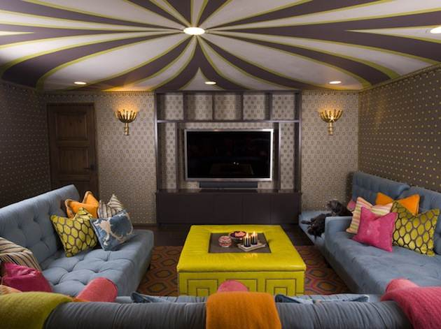 BOLD PATTERNED THEATER