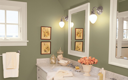 Image of: Bathroom with Pale Colors