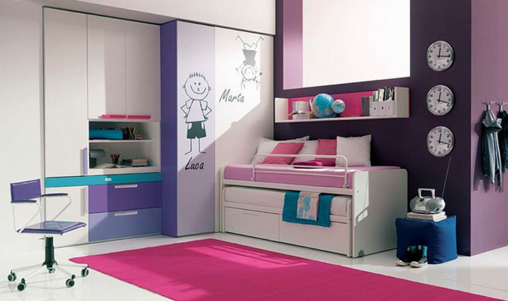 Beautiful Bedroom Design for Cute Teenage Girls design