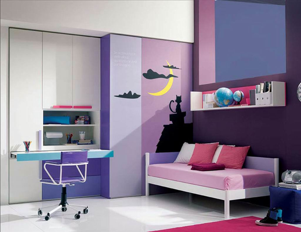 Image of: Beautiful Bedroom Design for Cute Teenage Girls