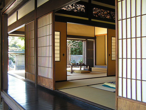 Image of: Beautiful Traditional Japanese House