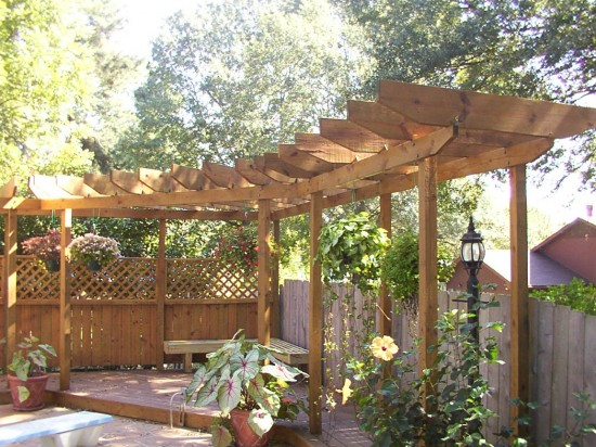 Image of: Beautify Your Garden with Pergola