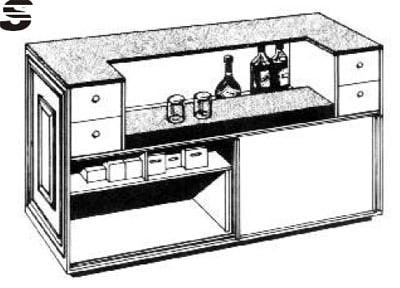 Image of: Canply Home Bar Plans