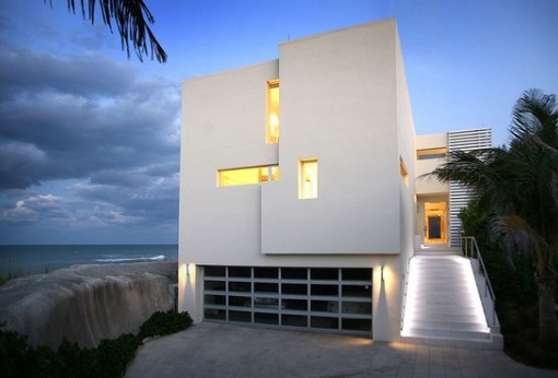 Image of: Contemporary Beach House Idea