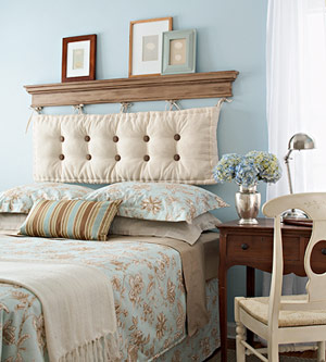 Image of: Create your Own Headboard
