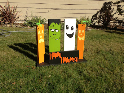 DIY Wooden Yard Decorations