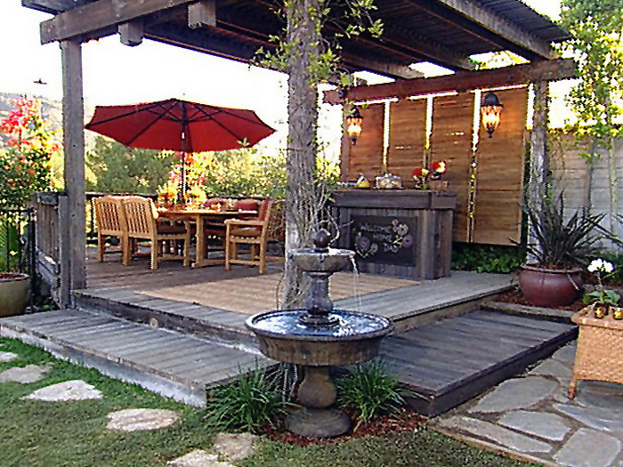 Image of: Clasic Deck Design Ideas