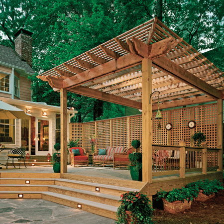 Image of: Adorable Deck Design and Decorating Ideas