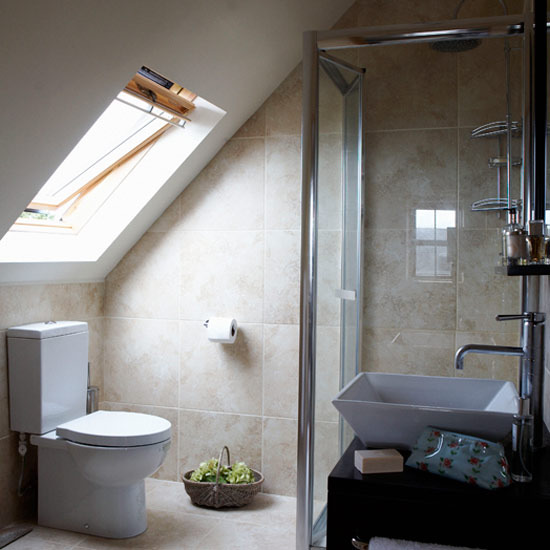 Image of: Dormer for Attic Bathroom