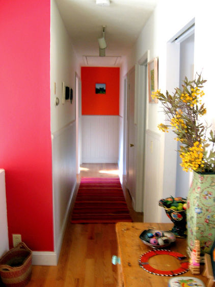Eclectic Color for Hall