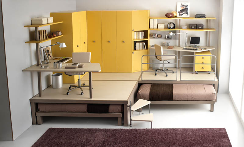 Image of: Efficient Space Saving Furniture for Kid Room