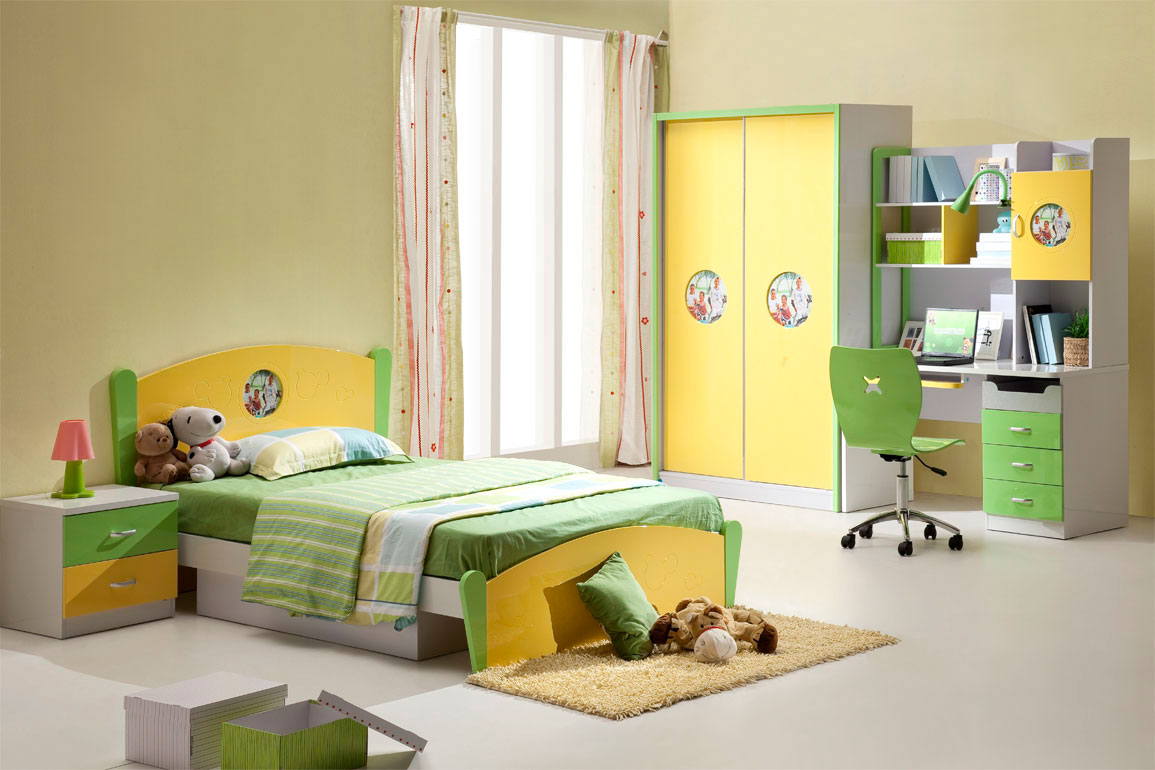 Image of: Kids Bedroom Color Design Ideas
