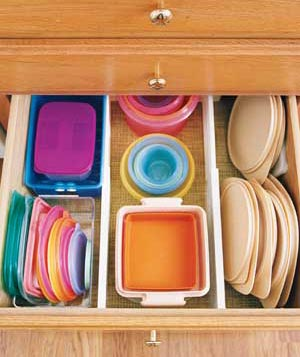 Image of: File Plastic Container