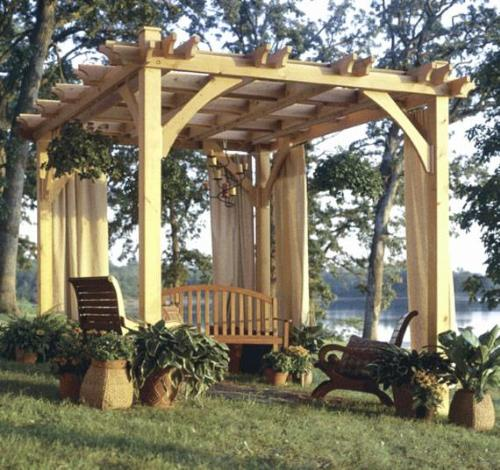 Freestanding Pergola Design