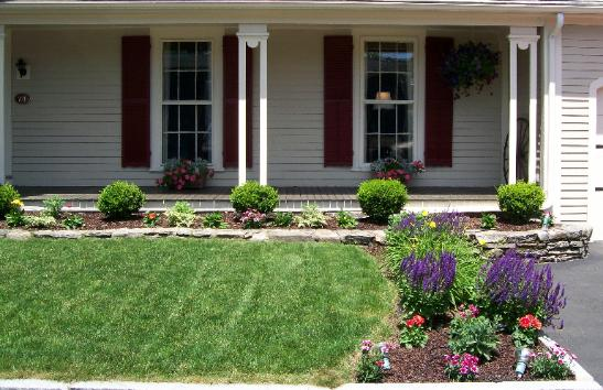 Image of: Front Yard Landscaping Idea Small Area