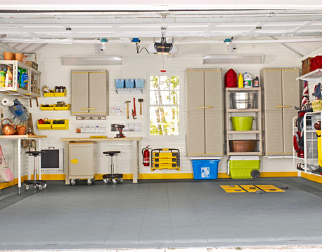 Image of: Elegant Garage Design Ideas
