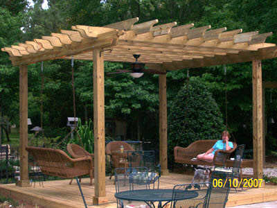 Image of: Garden Pergola Design