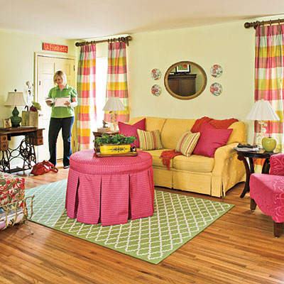 Image of: Get Comfortable with Color