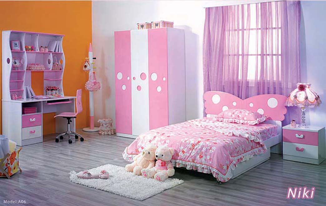 Image of: Girly Kid Room Idea