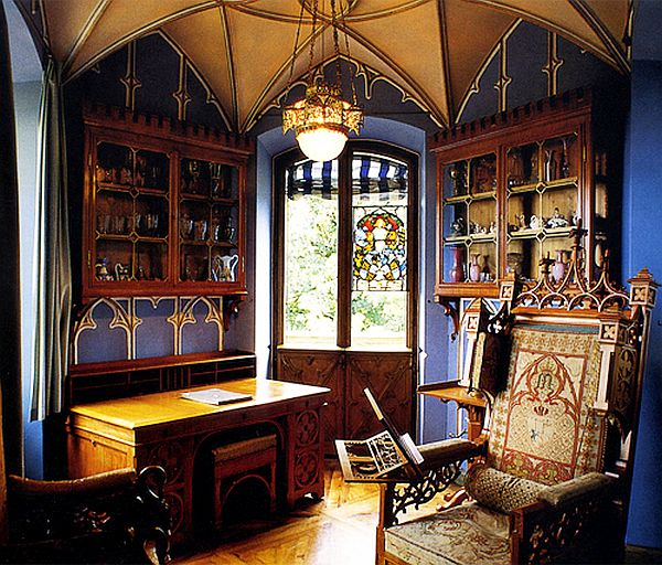 Gothic Inspired Home Office