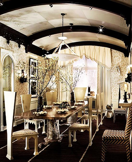 Image of: Gothic Syle Home Interior Decor and Lighting